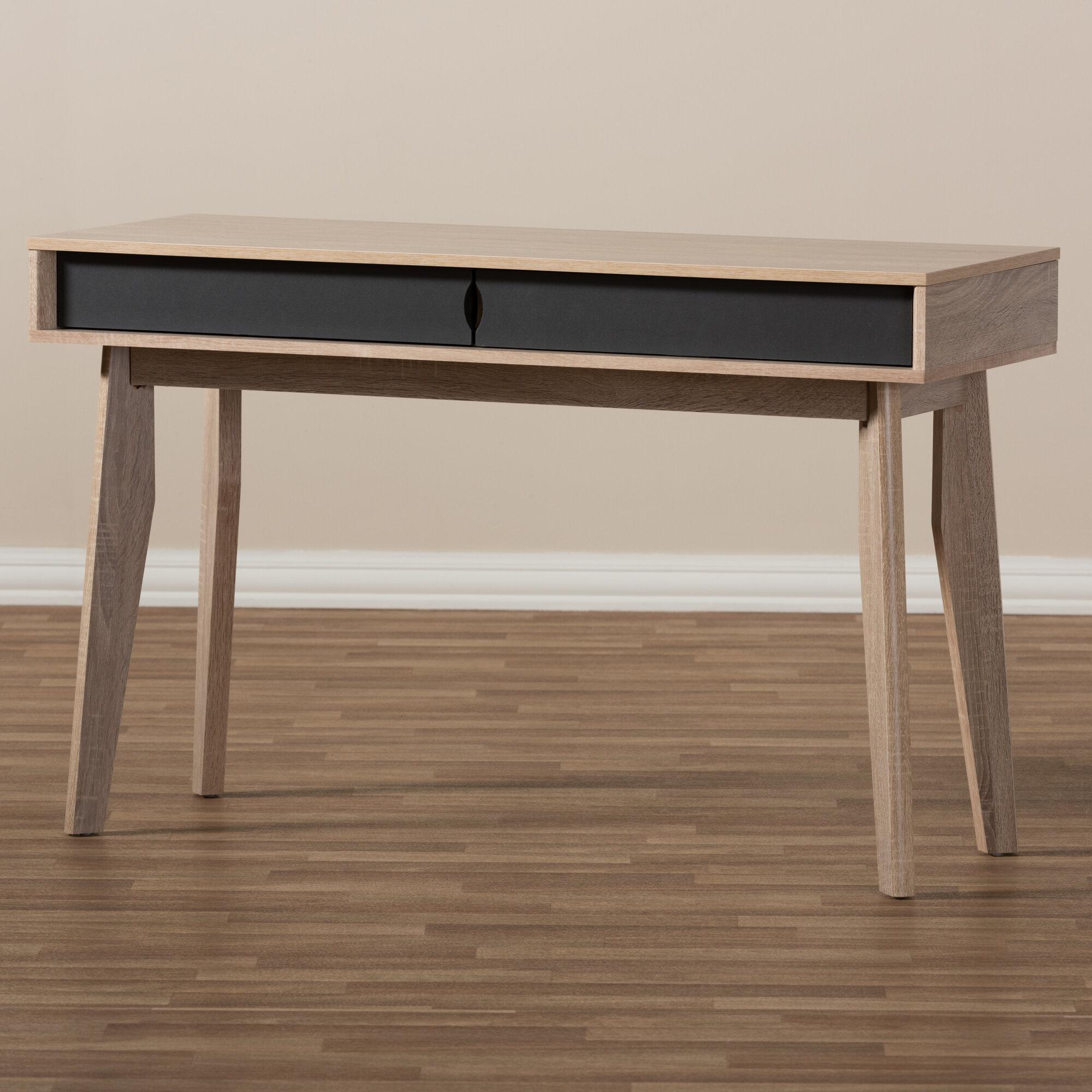 writing modern pin living century overstock mid desk marin drawer danish com