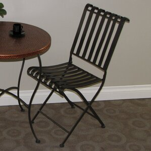 Metal Folding Side Chair (Set of 2) by 4D Co..