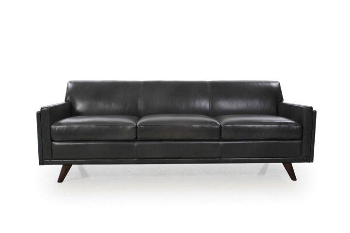 Peachy Ari Genuine Leather Modern Leather Sofa Interior Design Ideas Clesiryabchikinfo