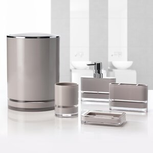majesty 5piece bathroom accessory set