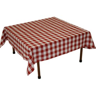Gingham Fitted Tablecloth