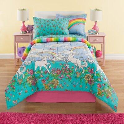 Kidz Mix Unicorn Reversible Bed In A Bag Set