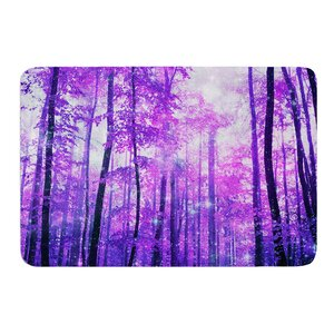 Magic Woods by Iris Lehnhardt Bath Mat