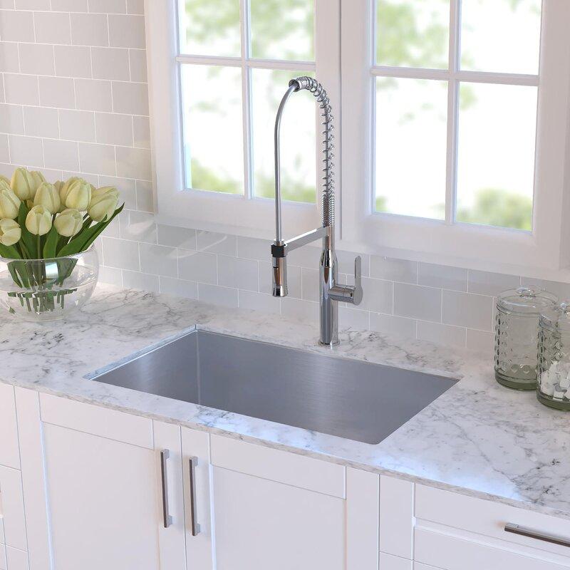 emmaus 30   x 18   undermount kitchen sink emmaus 30   x 18   undermount kitchen sink  u0026 reviews   joss  u0026 main  rh   jossandmain com
