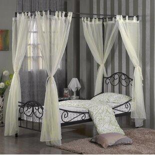 Four Poster Bed Drapes Wayfair Co Uk