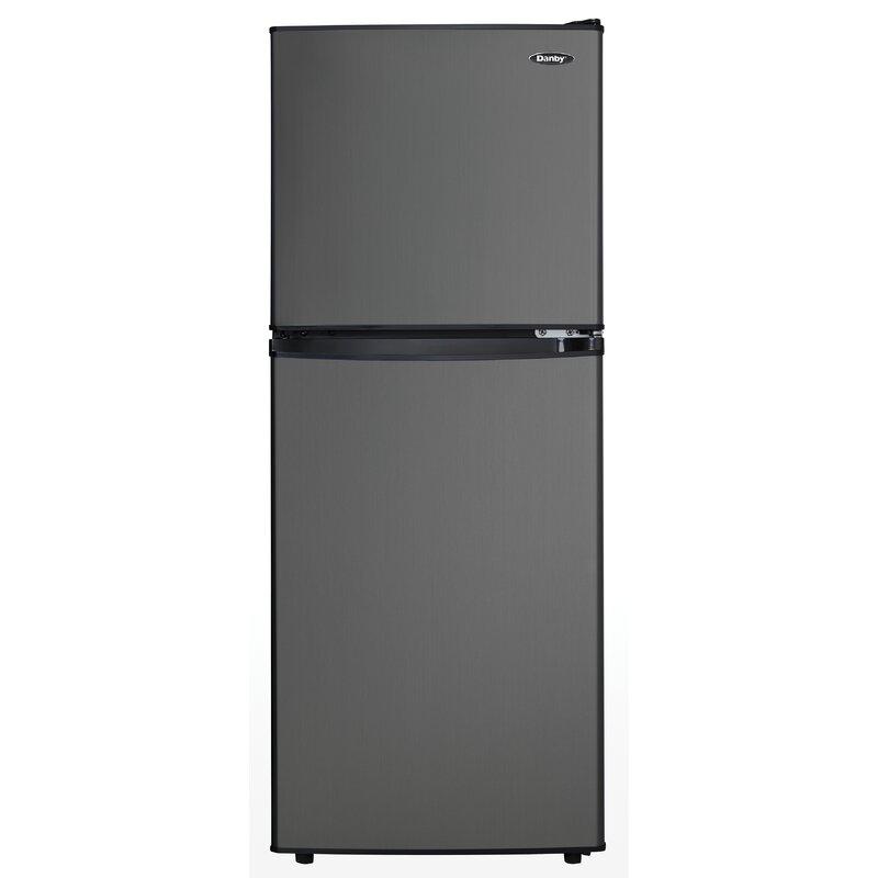 4 7 cu  ft  Compact/Mini Refrigerator with Freezer