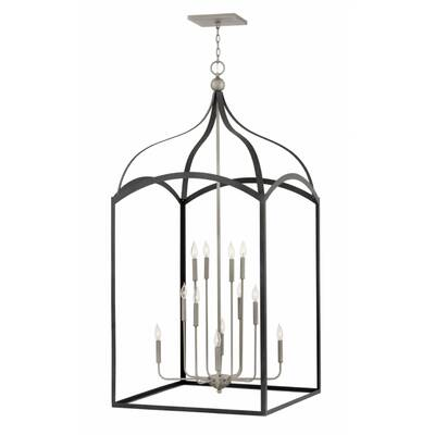 Hinkley Lighting Clarendon Three Tier 12 Light Foyer Pendant