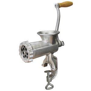 #10 Deluxe Heavy-Duty Meat Grinder and Sausage Stuffer