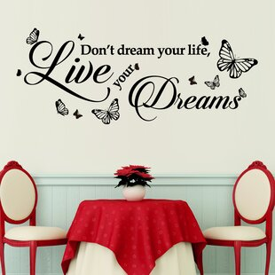 Inspirational Wall Decals Youll Love Wayfair - Wall decals motivational quotes