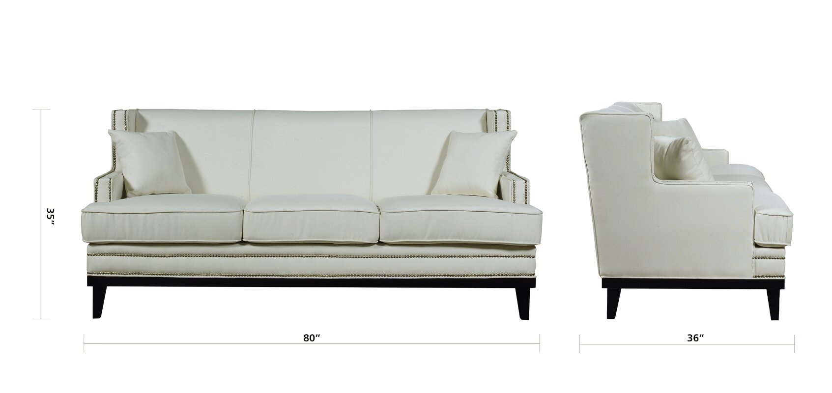 modern sofa. madison home usa modern sofa  reviews  wayfair