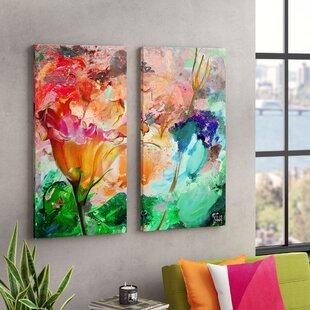Fresh Bright Floral Wall Art