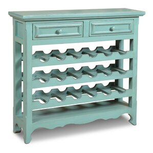 Ashleigh 18 Bottle Floor Wine Rack by August Grove