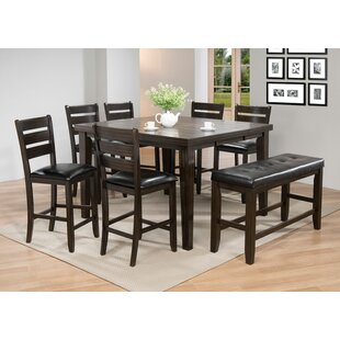 Pub Table With Bench Wayfair
