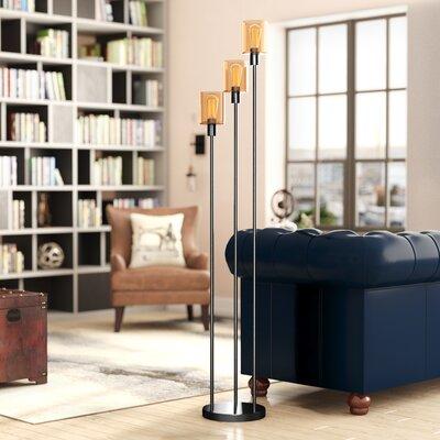 Industrial Amp Rustic Floor Lamps You Ll Love In 2019 Wayfair