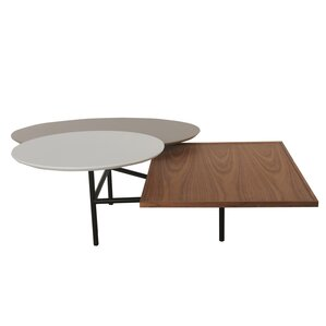 Virga Trio Rotating Coffee Table by New Pacific Direct