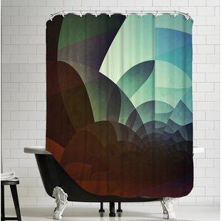 Spyyryl Yyt Shower Curtain By Americanflat