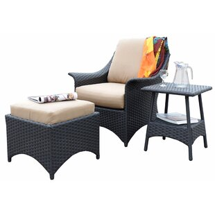 Alyssa Relaxing Patio Chair with Cushion