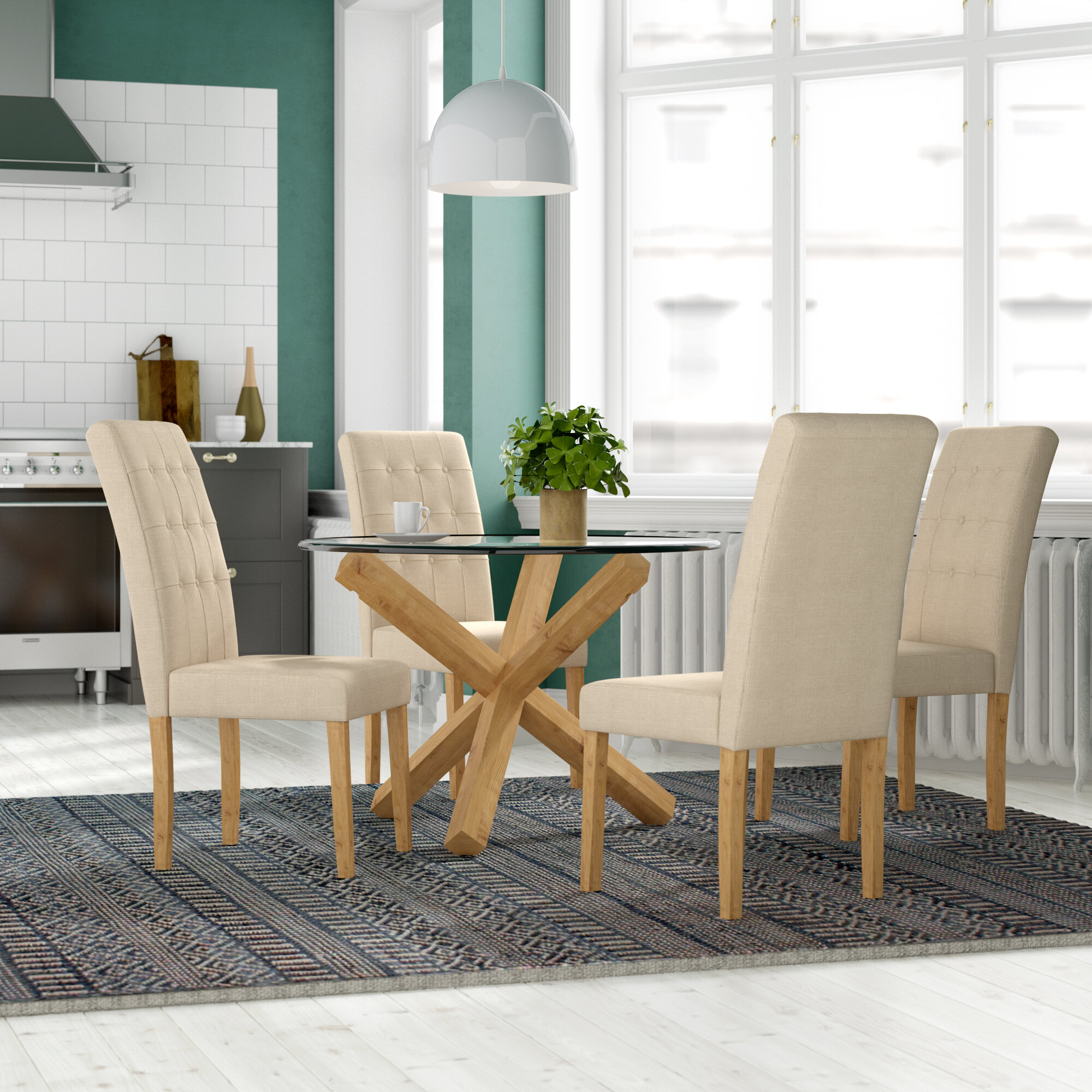 Prime Oporto Dining Set With 4 Chairs Download Free Architecture Designs Viewormadebymaigaardcom