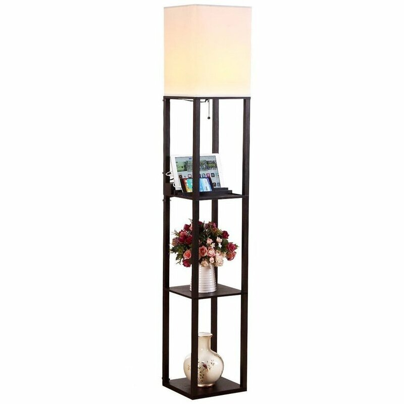 Brightech maxwell 63 led column floor lamp reviews wayfair maxwell 63 led column floor lamp aloadofball Images