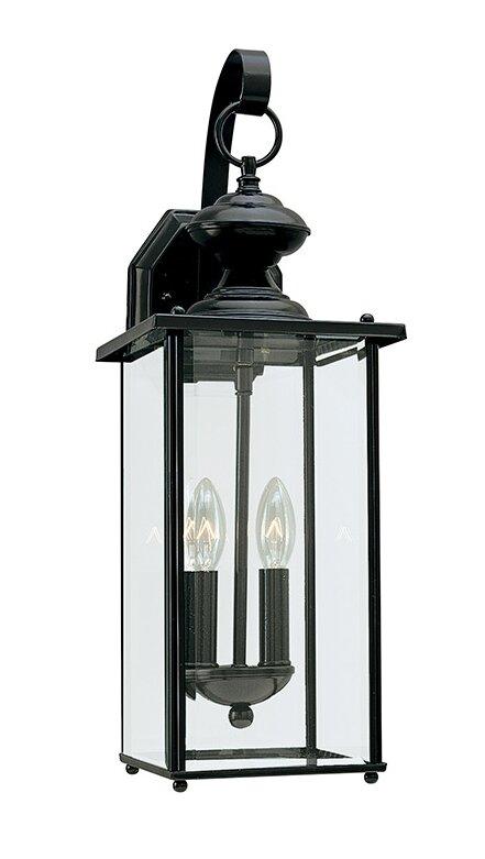 Amberley 2 light outdoor wall lantern reviews joss main amberley 2 light outdoor wall lantern workwithnaturefo