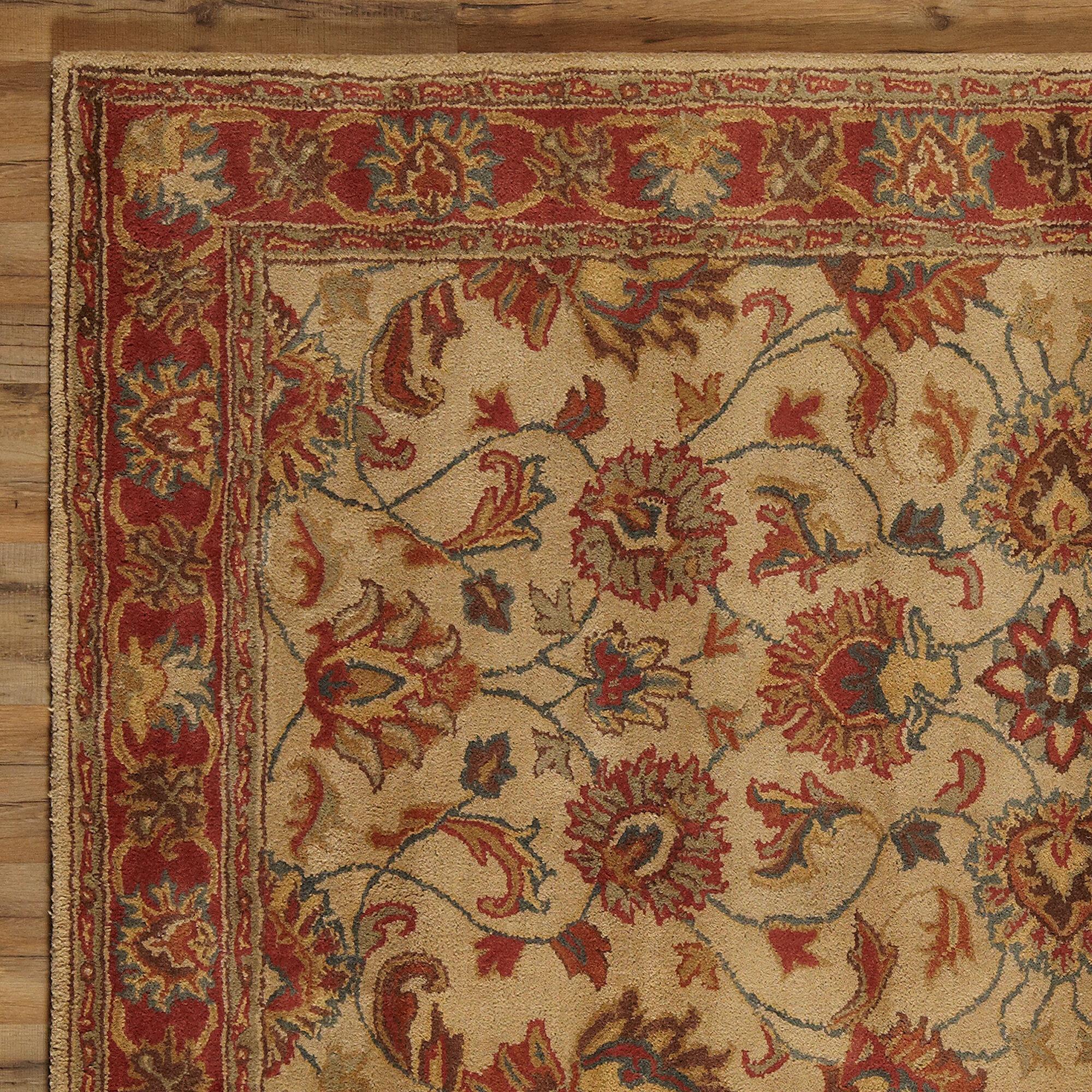 Birch Lane™ Arden Brick Hand-Woven Wool Area Rug & Reviews | Birch Lane