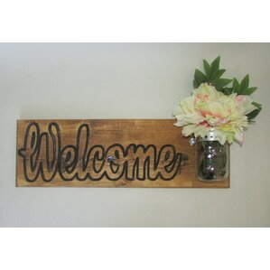 Welcome Wall Decor established 98 | wayfair