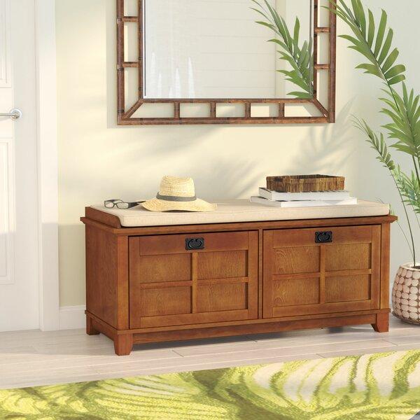 Beachcrest Home Lexie Fabric Storage Bench Amp Reviews Wayfair