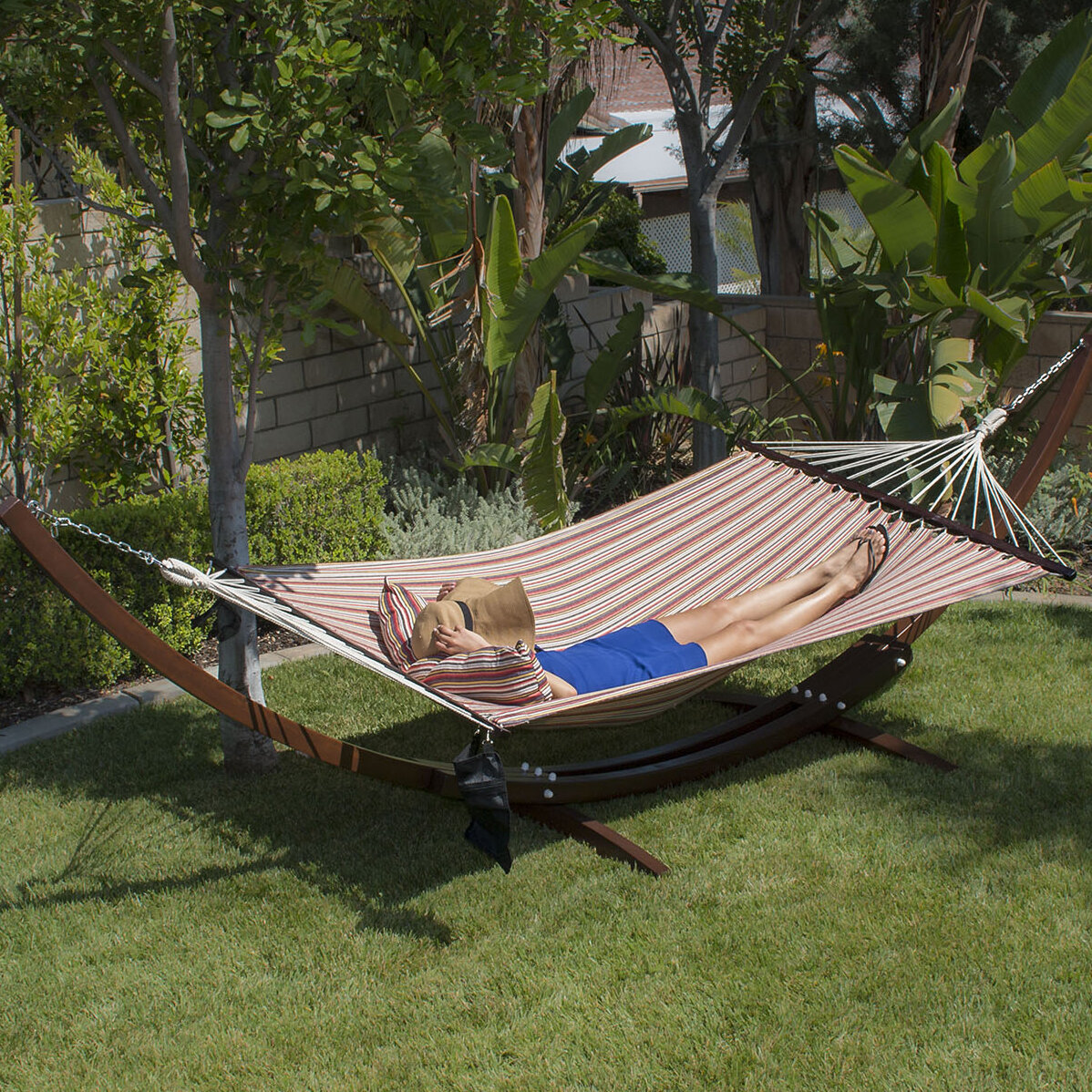 arc chair a hawaii lovely outstanding day hammock with hang cabinet how tie stand wooden to ways emergency thevol diy national backyard creative wood