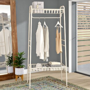 vintage style clothes rail uk, clothes rails & wardrobe systems | wayfair.co.uk, Design ideen