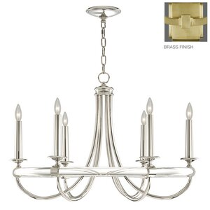 Grosvenor Square 6-Light Candle-Style Chandelier