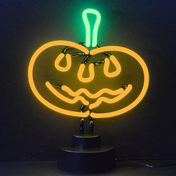 Neonetics Business Signs Pumpkin Neon Sign Amp Reviews Wayfair