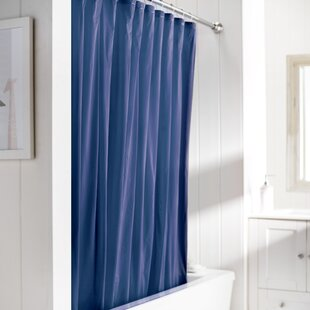 Light Blue Shower Curtain | Wayfair