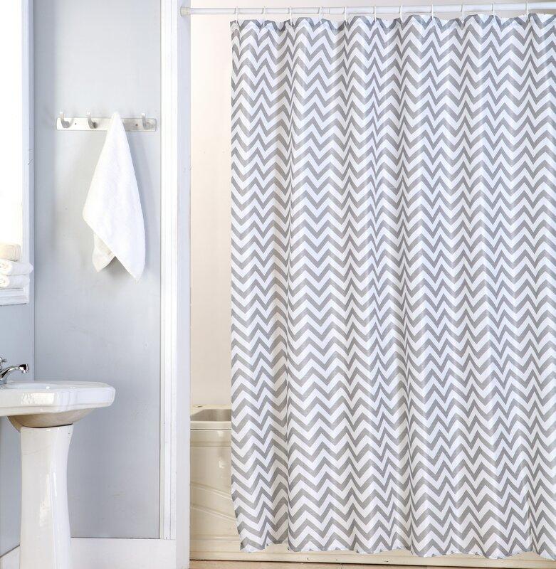 Delightful Nikki Canvas Shower Curtain