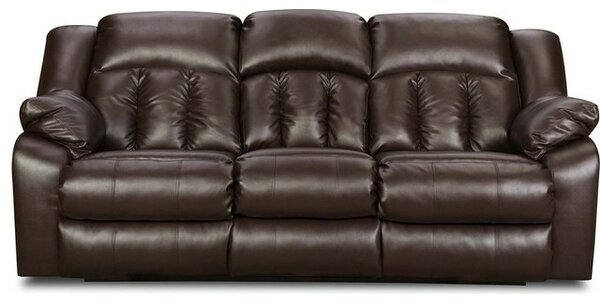 darby home co houle reclining sofa by simmons upholstery u0026 reviews wayfair