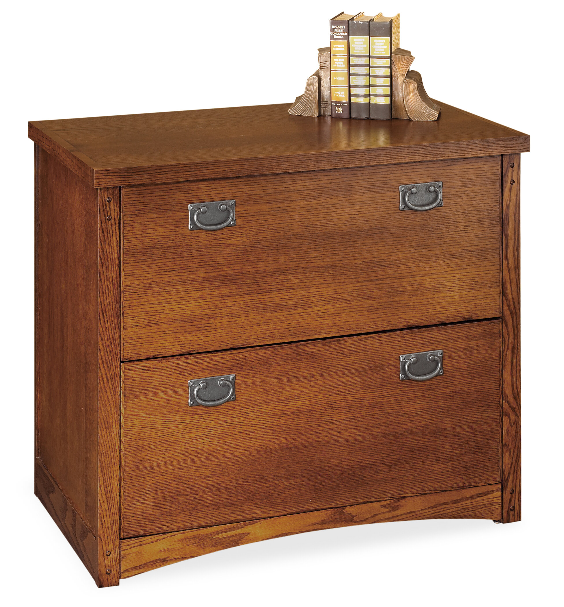 Martin Home Furnishings Mission Pasadena 2-Drawer Lateral File Cabinet u0026 Reviews | Wayfair  sc 1 st  Wayfair & Martin Home Furnishings Mission Pasadena 2-Drawer Lateral File ...