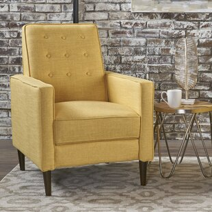 d69e1972849 Butter Yellow Recliner