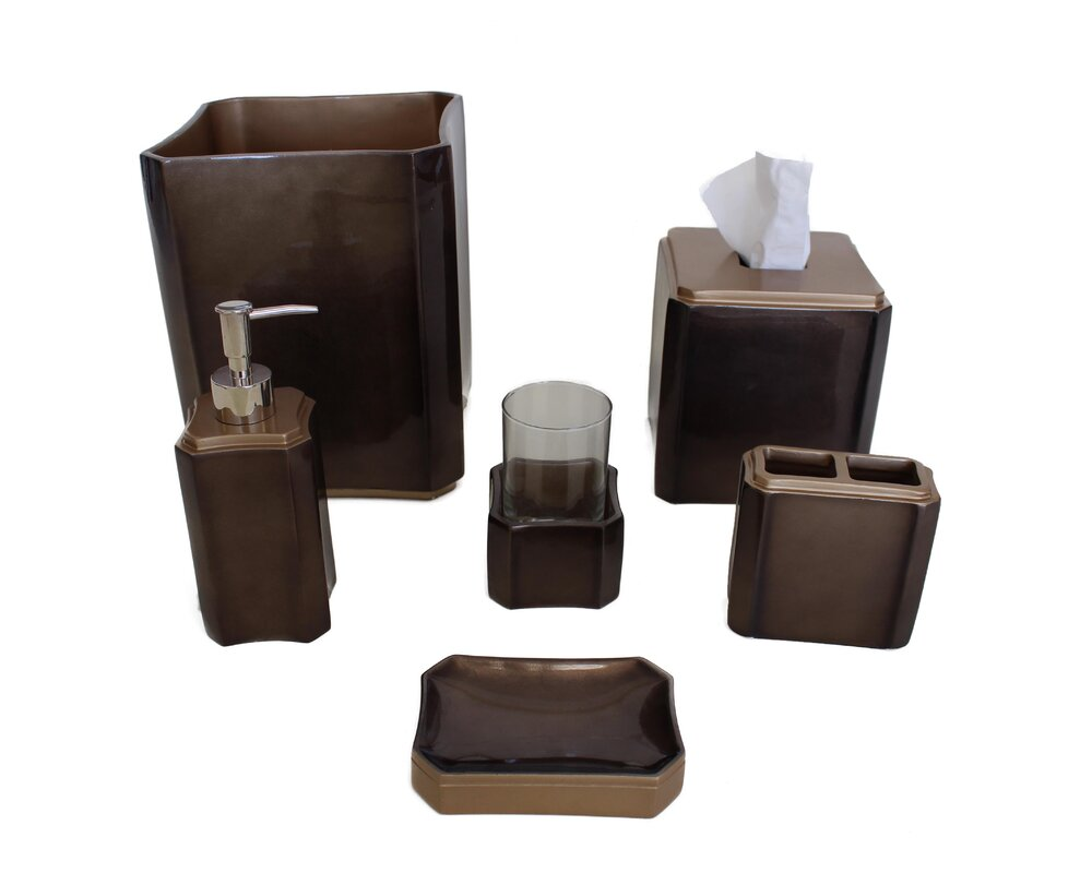Essex 6 Piece Bathroom Accessory Set