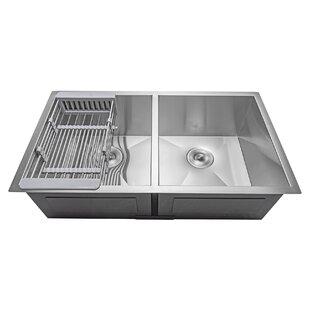 Stainless Steel Kitchen Sinks Youu0027ll Love | Wayfair