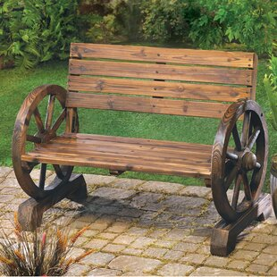 Prime Back Included Rustic Wood Benches Youll Love Wayfair Caraccident5 Cool Chair Designs And Ideas Caraccident5Info