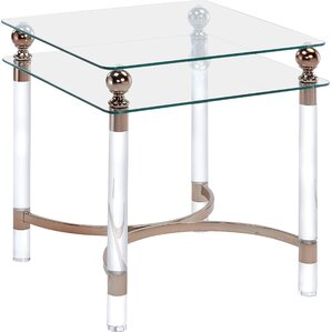 Augusto End Table by Willa Arlo Interiors