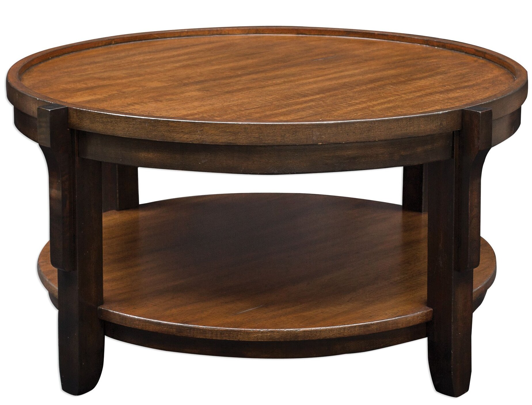 Bloomsbury Market Eugenie Round Wooden Coffee Table & Reviews