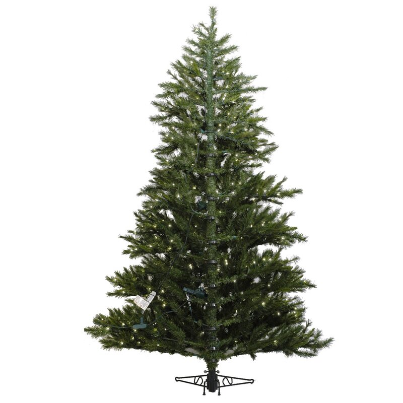 minnesota pine westbrook 75 green artificial half christmas tree with stand - Half Christmas Tree