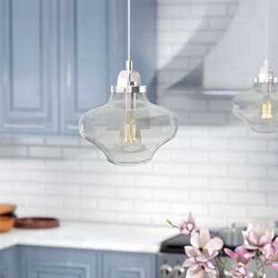 Schoolhouse pendants youll love wayfair folkston 1 light schoolhouse pendant aloadofball Image collections