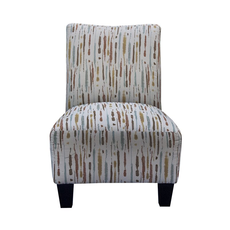 Grafton Spattered Armless Slipper Chair