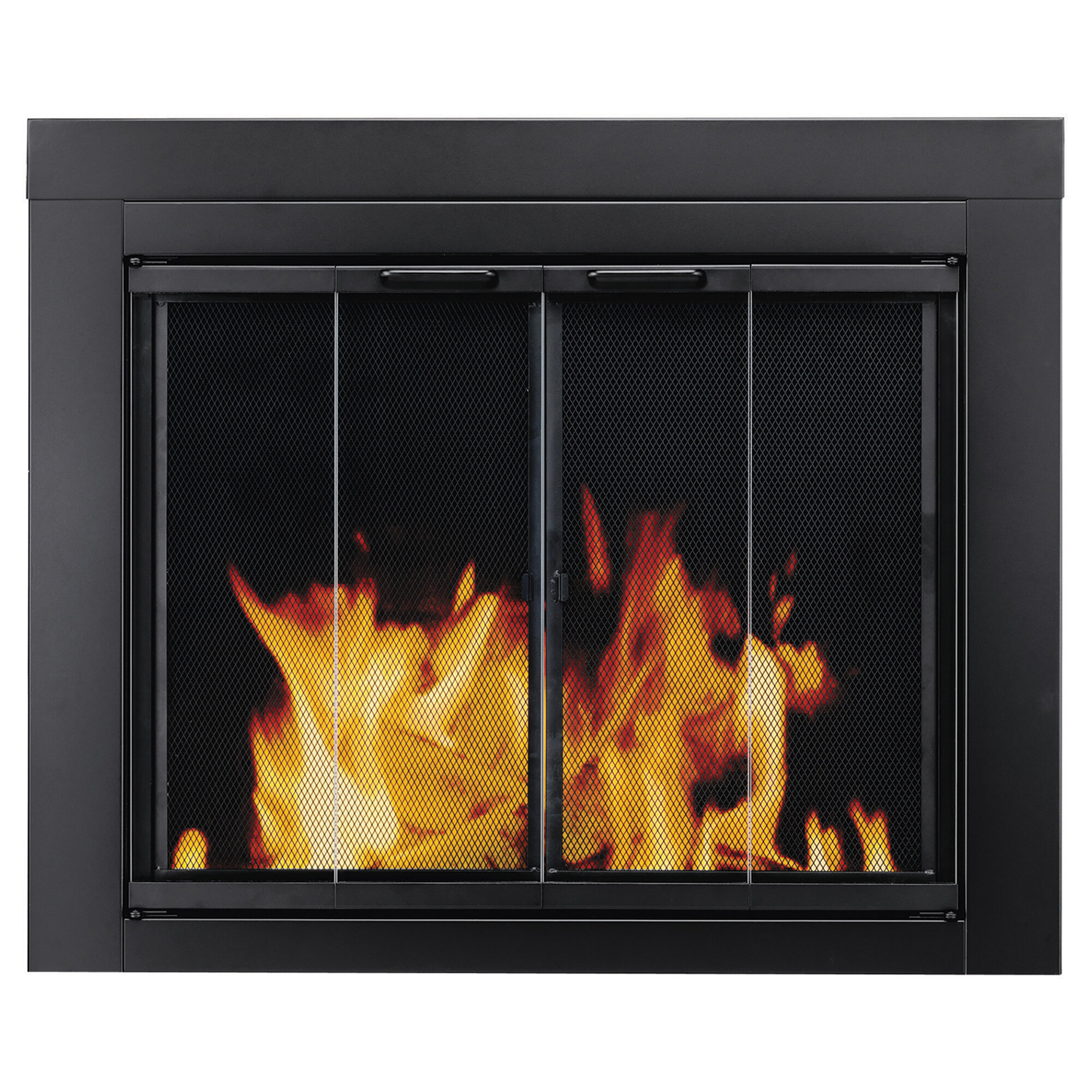 Strange Find The Perfect Bifold Fireplace Screens Wayfair Home Interior And Landscaping Ologienasavecom