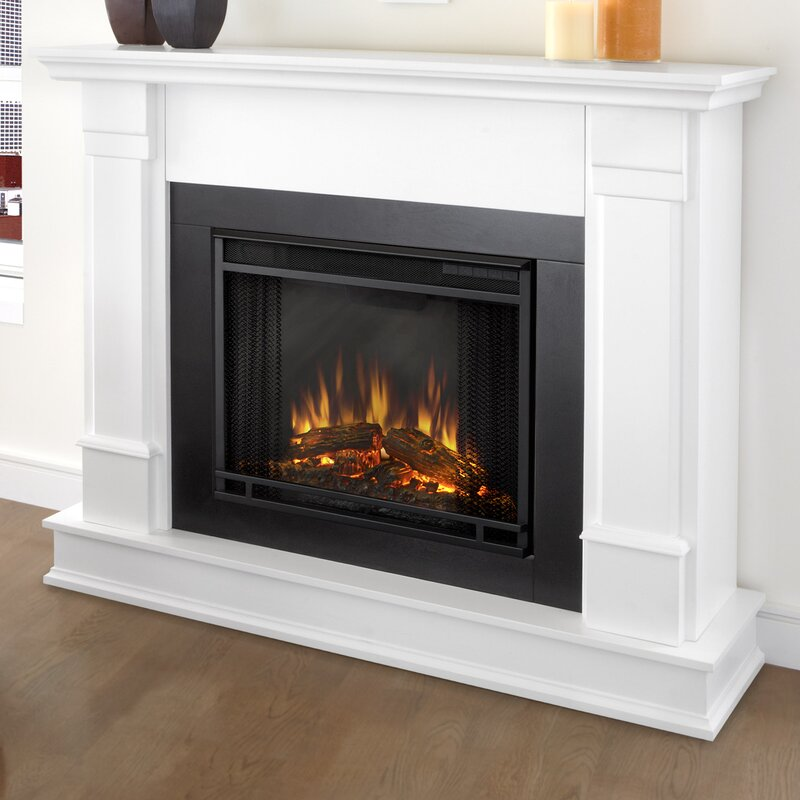Real Flame Silverton Electric Fireplace Amp Reviews Wayfair