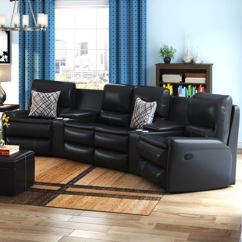 reclining sectionals you'll love | wayfair