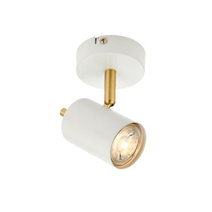Gull 1-Light Semi Flush Mount by Endon Lighting