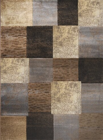 Trent Austin Design Daly City Gray Cream Area Rug