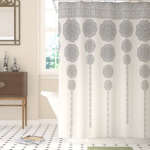 Gray Silver Yellow Gold Shower Curtains Youll Love